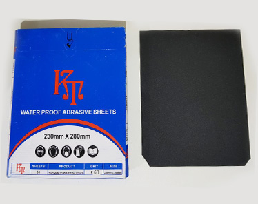WATER PROOF ABRASIVE SHEETS